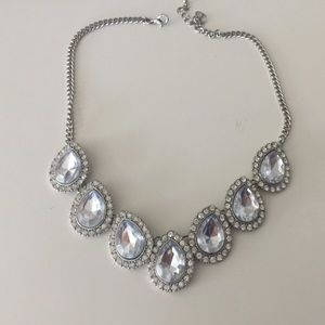 Beautiful Silver Necklace -Worn Once To A Wedding